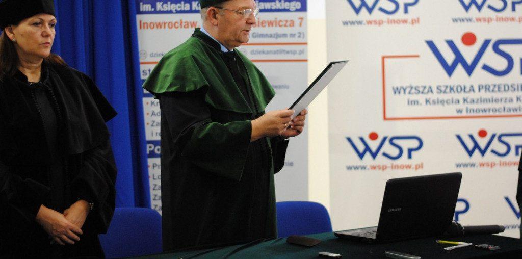 Wyższa Szkoła Przedsiębiorczości im. Księcia Kazimierza Kujawskiego zainaugurowała nowy rok akademicki