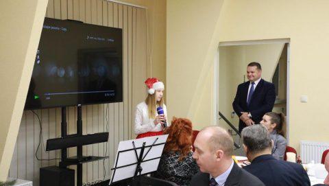 Spotkanie opłatkowe Zespołu i Partnerów WSP Inowrocław