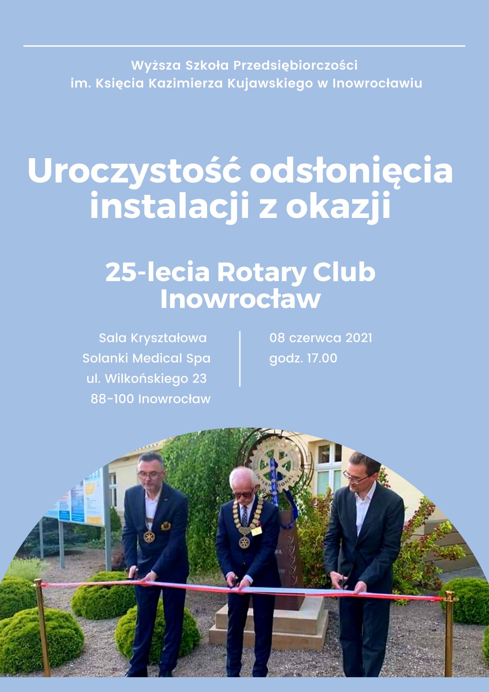 Inowrocławscy Rotarianie świętowali podwójny jubileusz